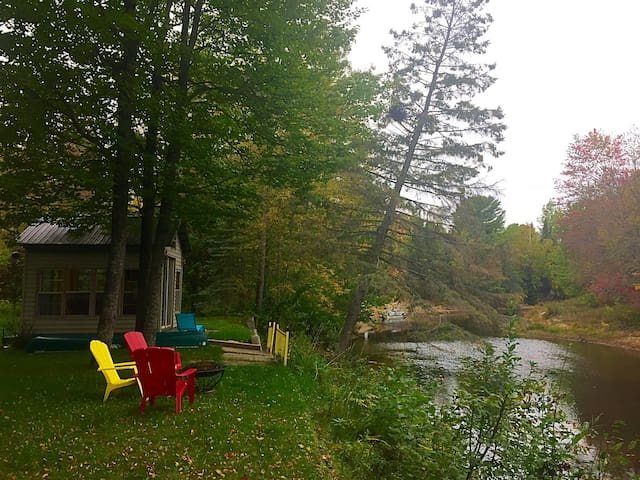 York River cottage, private, perfect for families - Bancroft - Kulübe