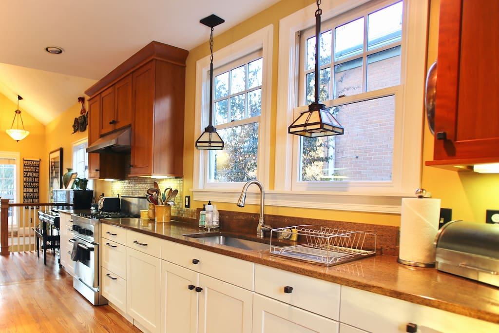 Fully-equipped kitchen for some home-cooked meals during your stay