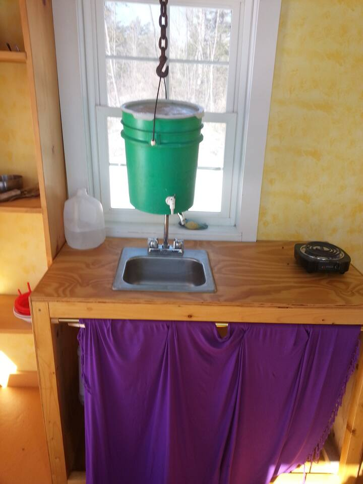 Gravity Fed Water in Tiny House