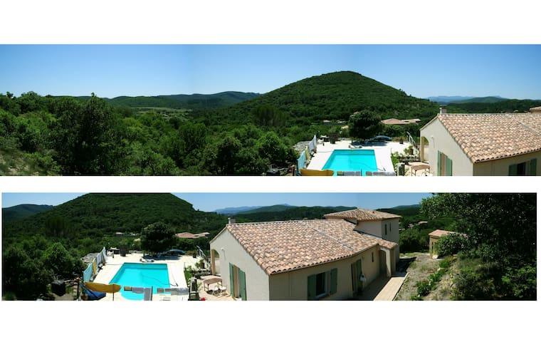 Grande, belle Villa Privée (famille/amis), piscine