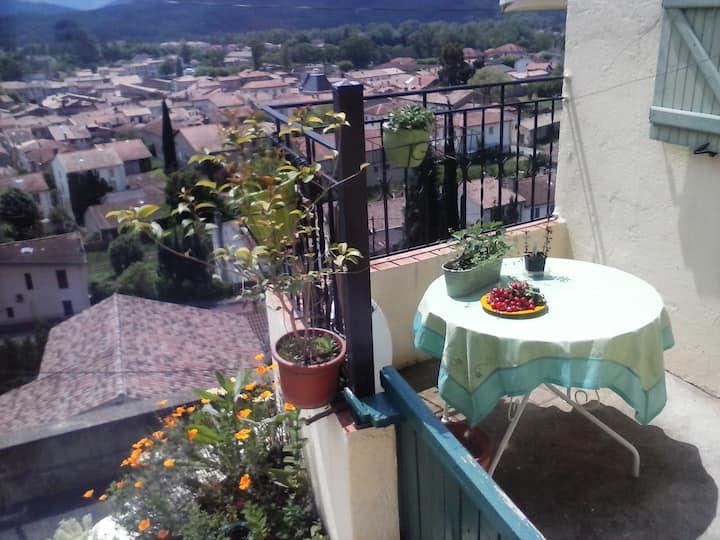 Esperaza : maison avec vue
