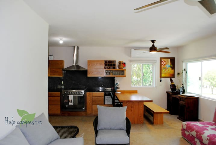 Cocina de la casa