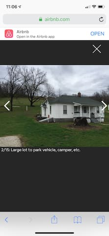 3 Full RV hookups next to Hunters' Haven lodge