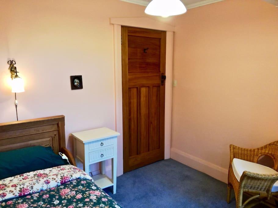 Your bedroom seen from window