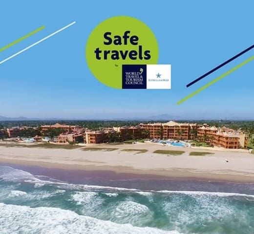 Spectacular Villa Ocean front Color Marino Seaside