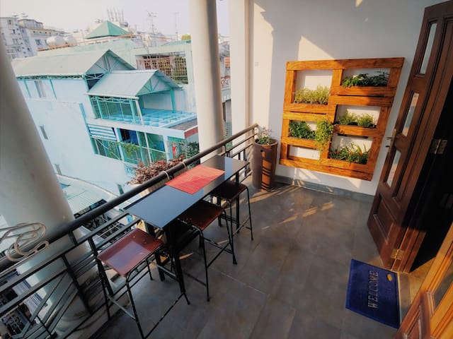 70sqm apartment❤️ 1 minute walk to BenThanh market
