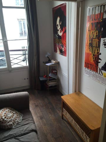 Chambre (lit mezzanine)