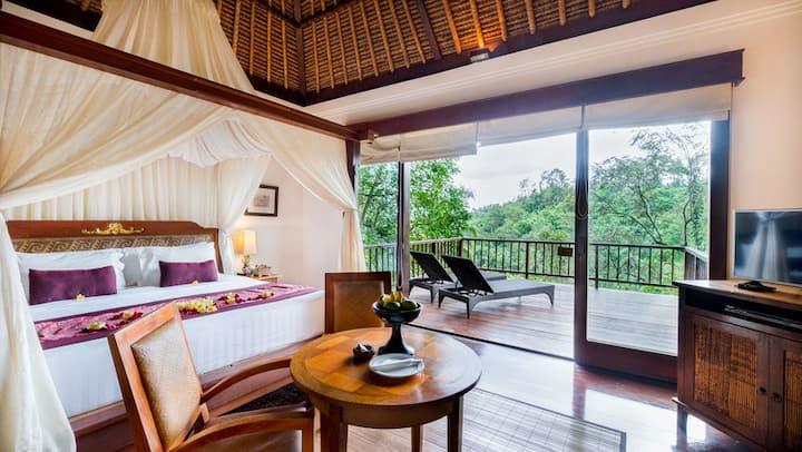 Cozy,Relaxing Jungle View Villa 1BR
