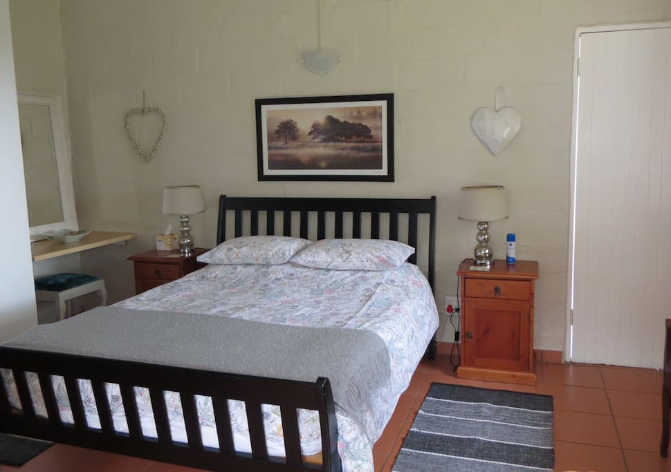 Two bedroomed unit main bedroom