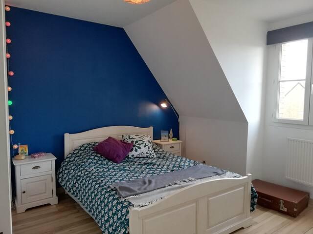 Chambre tranquille, proche de Saint-Omer