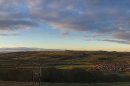 Cosy home with beautiful views in Esh, Durham - Esh