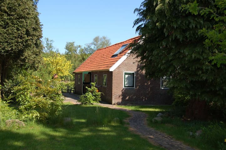 Cosy cottage - NorthEast of Holland - Hooghalen - Casa
