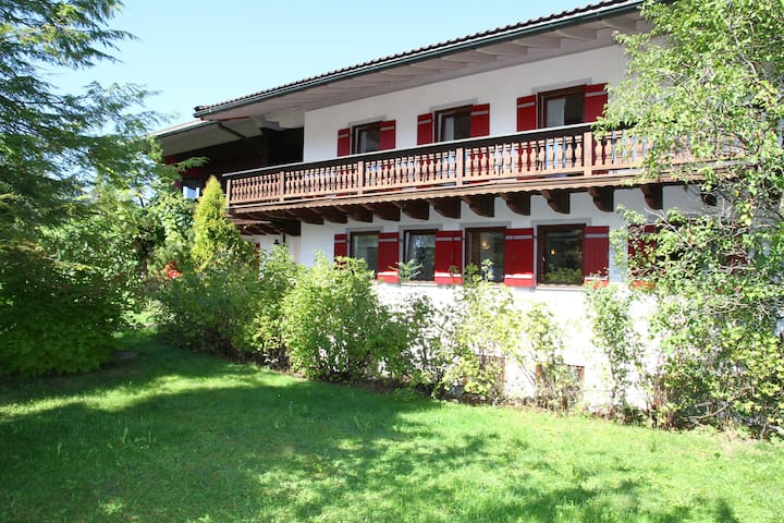 Pension - Herberge der Engel - Einzelzimmer grün - Aschau im Chiemgau