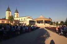 Međugorje marian sanctuary (BiH) 40km