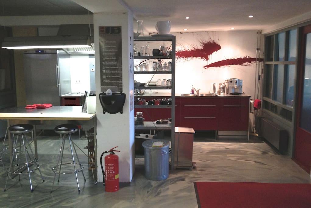 centrale keuken