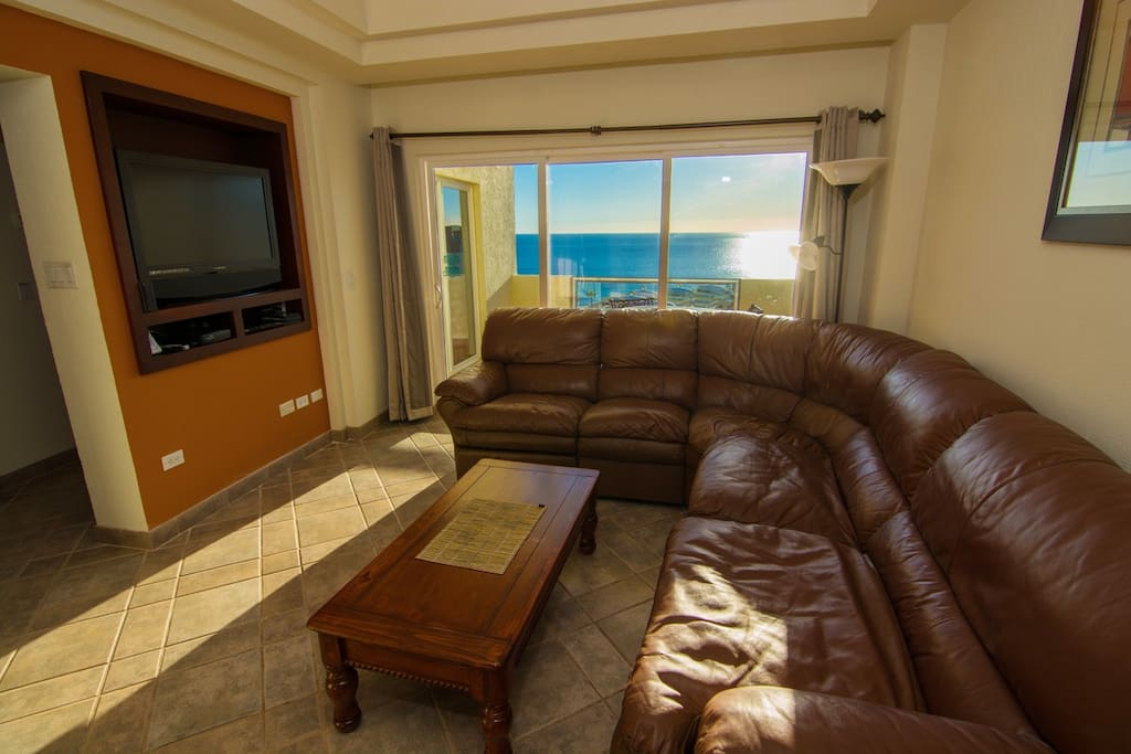 Beautiful view of the Sea of Cortez from the Family Room