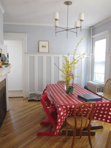 Enjoy country living in the heart of brooklyn