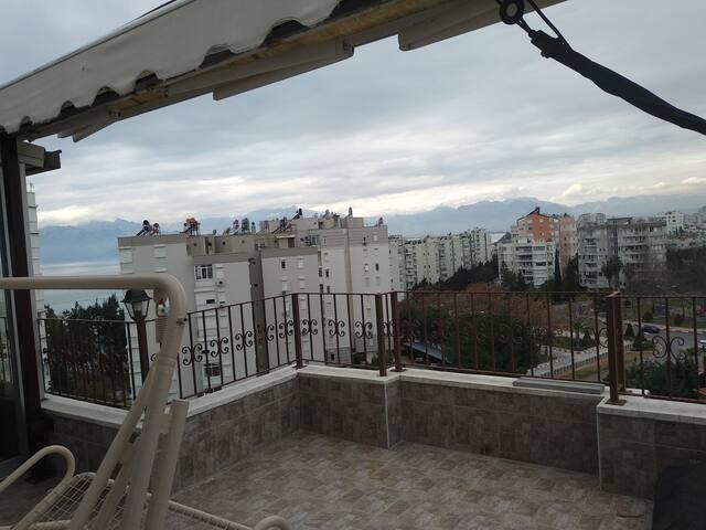 Lux dublex deniz manzaralı apartman dairesi