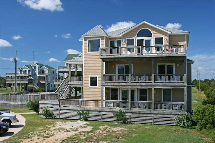 Surf N Sea  OCEANVIEW in Waves w/Htd Pool&HotTub, RecRoom, Pets