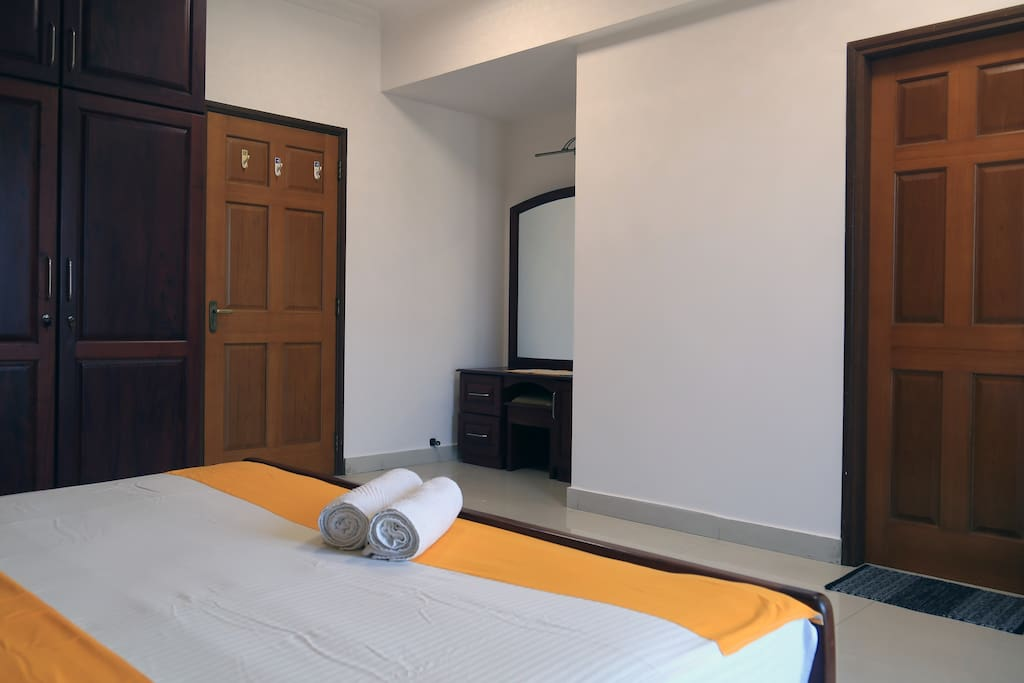 Master Bedroom with attached toilet