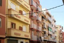 The building in C/ Antonio Ponz
