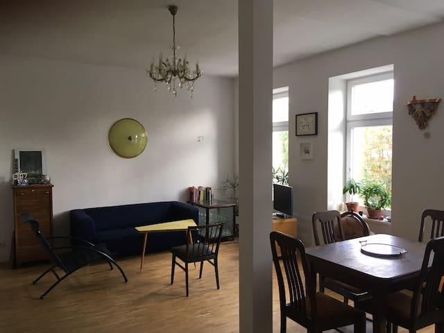 Spacious Apartment in Leipzig's Vibrant South - Leipzig - Apartamento