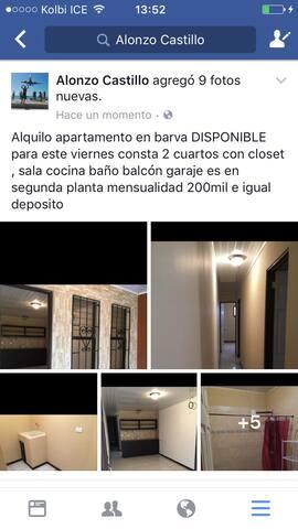 Apartamento Costa Rica barva de Heredia