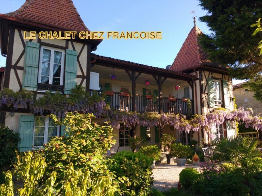 """Bienvenue au """"Chalet chez Françoise"""""""