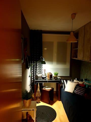 Habitacion privada   en  piso nuevo