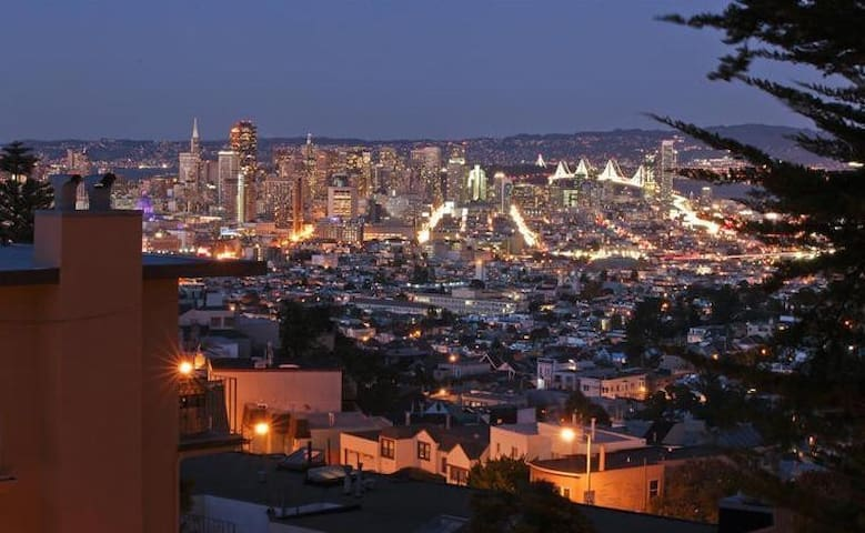 Spacious Condo w/ View and Transit! - San Francisco - Appartement