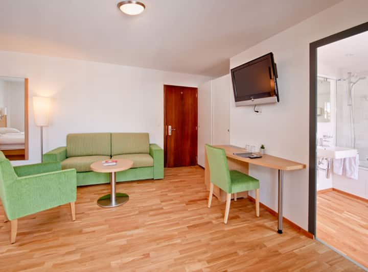 Quardruple-Room at Hotel Bristol