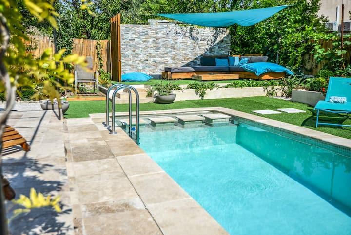 Villa 'Augflor' -  for family 4+ pool, views