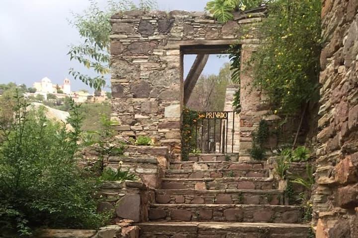 Casa en Ex-Hacienda de Durán, para relajarse