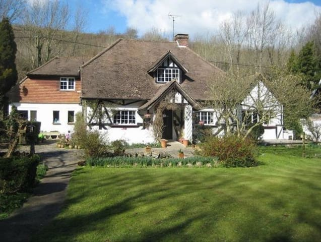 A historical Cottage within the South Downs - East Sussex - Huis