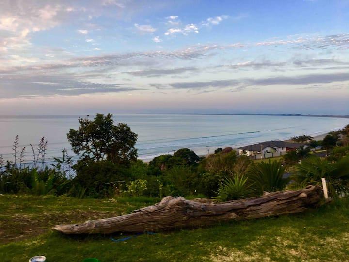 Private Room Seaviews -90 Mile paradise in Ahipara
