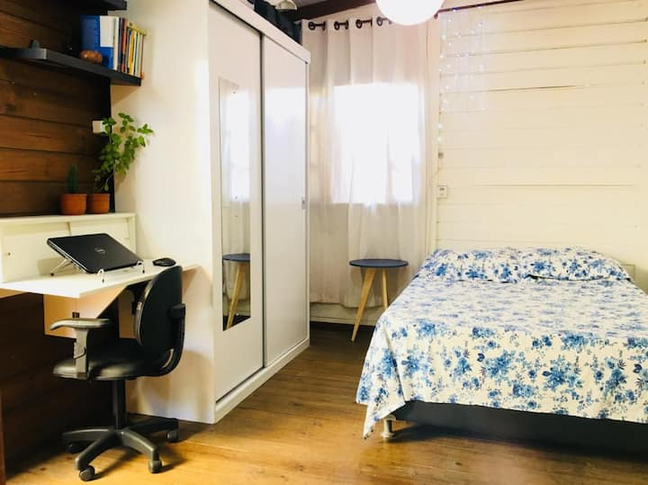 Casa simples e aconchegante no Campeche