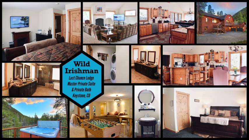 LCL King Suite in Luxury Home - Wild Irishman
