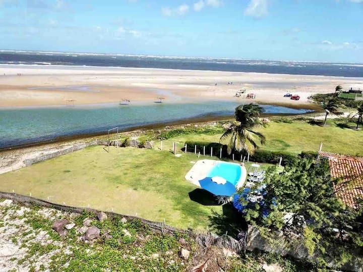Casa na Praia do Saco, Sergipe.