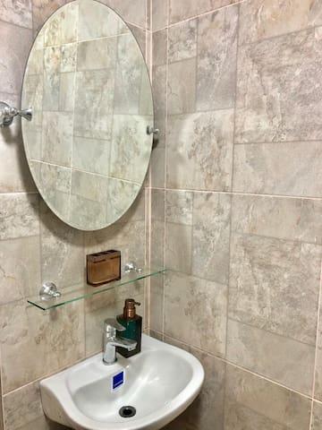 Newly built ensuite shower room