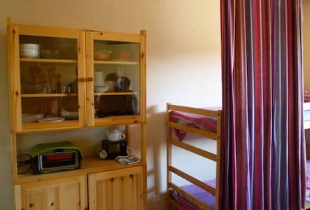 Charming studio, Jura outdoor: hiking, skiing... - Les Moussières - Apartment - 2
