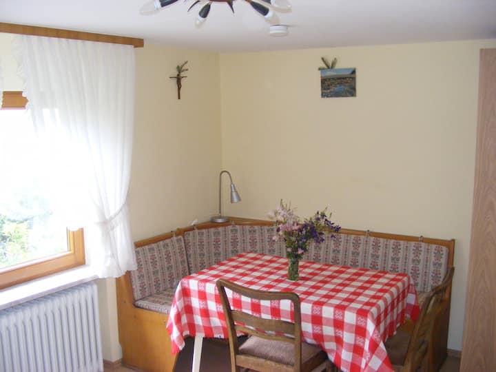 Ferienwohnung Bergblick, (Forbach), Ferienwohnung, 40qm, 1 Schlafzimmer, max. 3 Personen
