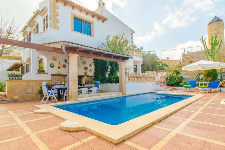 CAN NICOLAU - Villa for 9 people in Colonia San Pere. - Colonia San Pere - Villa