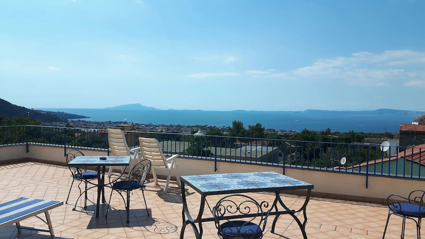 "Stunning view ""Elena apartment"" - Piano di Sorrento"