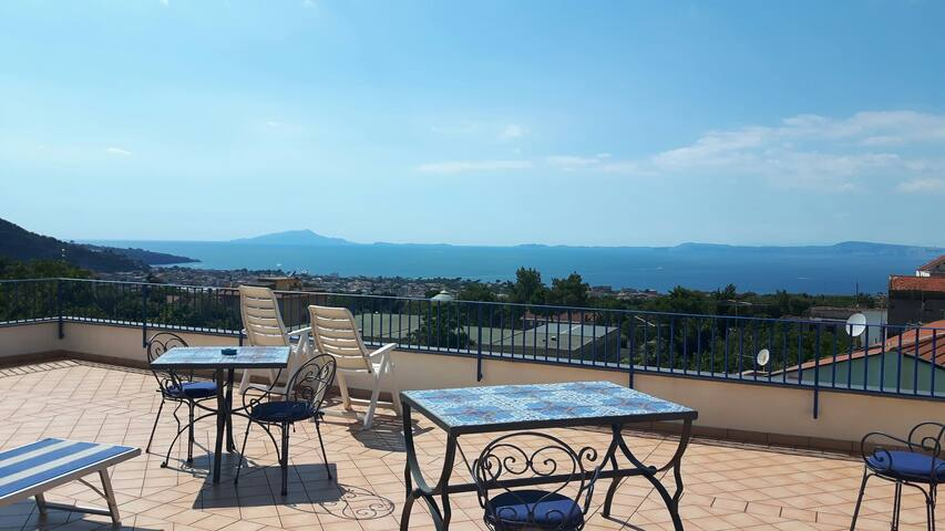 "Stunning view ""Elena apartment"" - Piano di Sorrento - Byt"