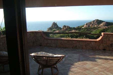 Villetta with wonderful sea view and big terrace - Costa Paradiso
