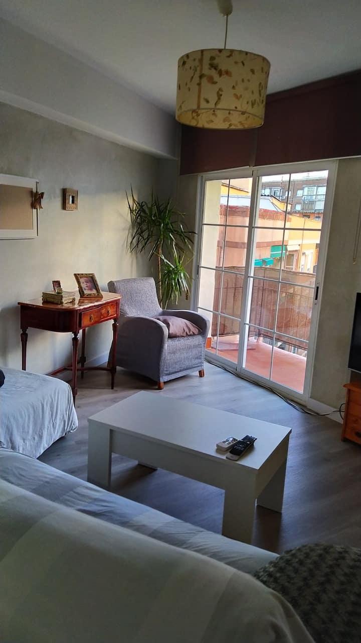 Habitacion privada en: céntrico  apartamento