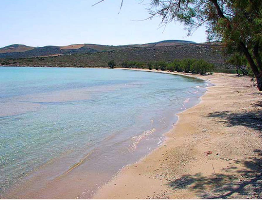 5 minutes walk from this lovely beach