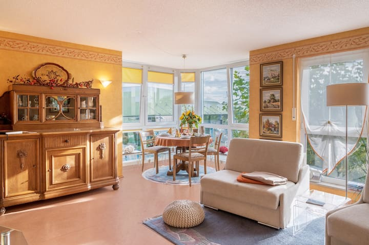 Holiday Apartment Marianne by Lake Constance with Wi-Fi; Parking Available