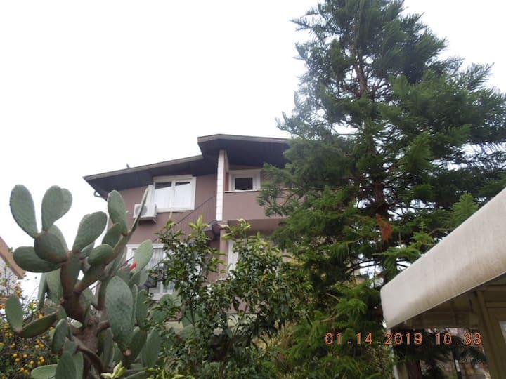 marmaris sakın müstakil girişli çatı katı