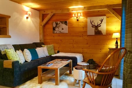 Luxury alpine apartment, for 2 to 6 people - Essert-Romand - Huoneisto